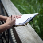 writing, diary, journal, keeping a journal